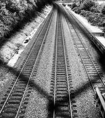 Railway Behind Fence