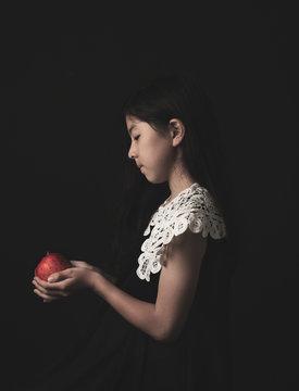 りんごと少女