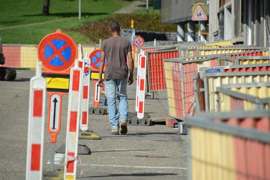 travaux chantier securité travail equipement