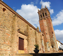 Church of the Assumption (Asunción) in Zalamea la Real a village in the province of Huelva Andalusia Spain