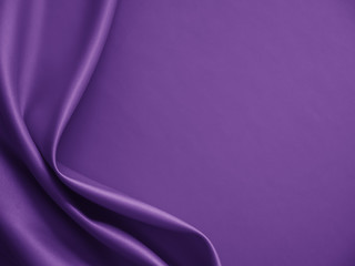 Beautiful smooth elegant wavy violet purple satin silk luxury cloth fabric texture, abstract...