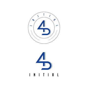 A collaboration of number 4 and the letter S which becomes a unique logo in vintage packaging.