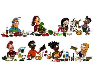 Vegan / vegetarian eating collection