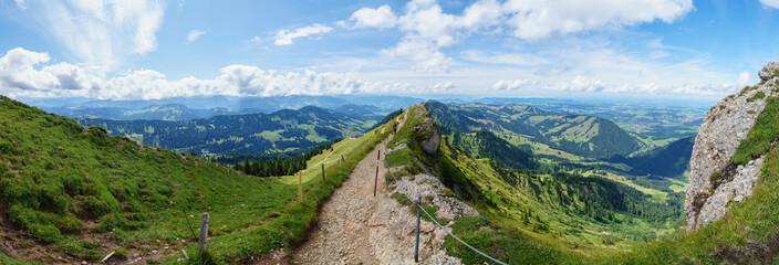 Panorama Hochgrat Gipfel Fototapete