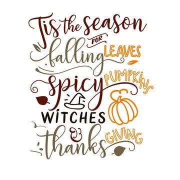 Tis the Season For Falling Leaves