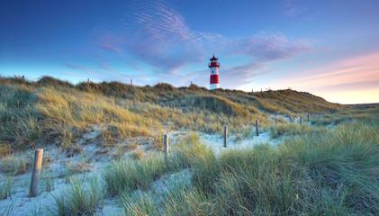 Leuchtturm auf der Insel