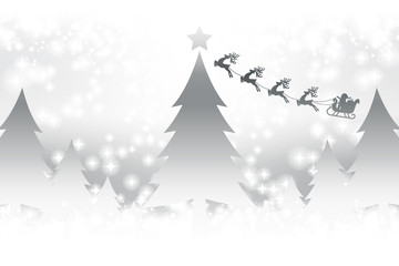 #Background #wallpaper #Vector #free #christmas #Xmas merry christmas,eve,fir tree,message,greeting card,santa claus,gift,white snowflakes,winter,event,party クリスマスカード,コピースペース,メッセージカード,グリーティングカード