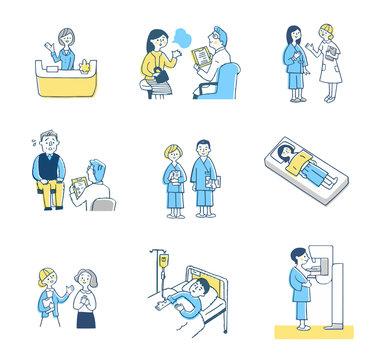医療イメージ セット