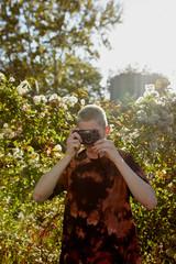 Photographer taking photos.