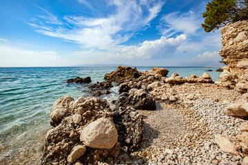 Makarska Riviera. Croatia landscape