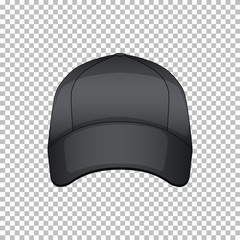 Product design template of cap with no graphic