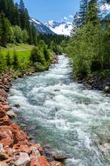 Mountain stream - Austrian Alps