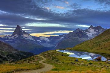 Sunrise at Matterhorn, Switzerland