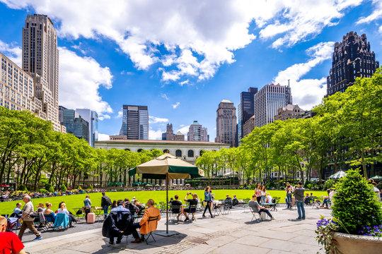 Bryant Park, New York City, USA