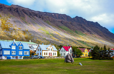 Iceland, natural wonders and traditions Fototapete