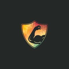 Power gym vector logo design. Fitness vector logo design template. Logo template with the image of a muscular arm.