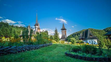 Barsana monastery, Maramures area, Romania. Barsana is one of the most beautiful monastery in Romania