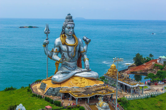 Murdeshwar is a town in Bhatkal Taluk of Uttara Kannada district in the state of Karnataka, India. The town is located 13 kms from the taluk headquarters of Bhatkal. Murdeshwar is famous for the world