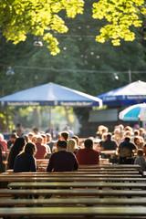 Biergarten in München: Tradition am Hirschgarten