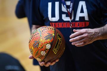 2019 International Basketball USA and Australia Joint Practice Aug 21st