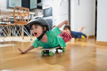 Kids playing indoor