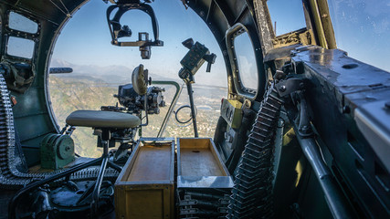 bomber view
