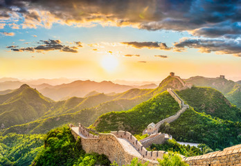 The Great Wall of China. Wall mural