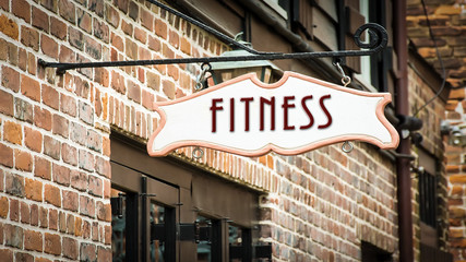 Street Sign to Fitness