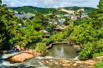 Cam Ly Waterfalls in Da Lat, Vietnam