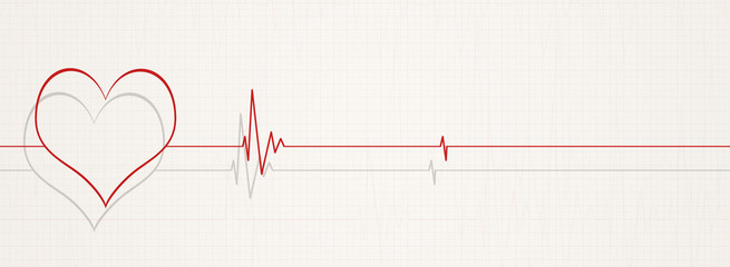 death by heart beats illustration