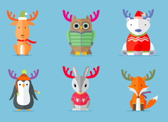 Reindeer Costumes Worn by Other Animals