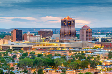 Albuquerque, New Mexico, USA Cityscape
