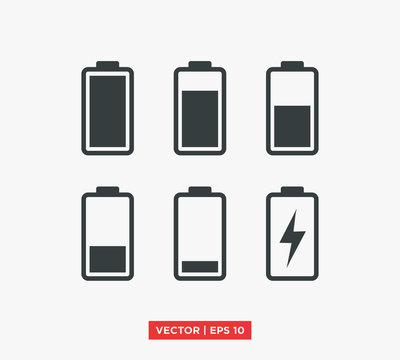 Battery Icon Vector Illustration