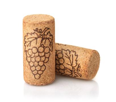 Two wine cork