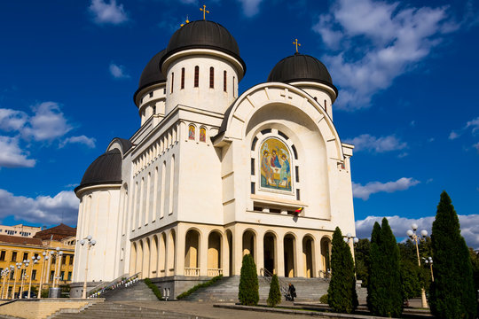 Holy Trinity Cathedral in Arad, Romania