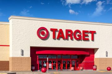 Target Retail Store and Trademark Logo