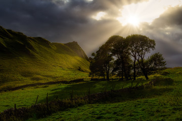 Last Light - Sun Beams In The Countryside