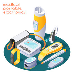 Medical Portable Electronics Composition