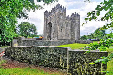 Bunratty Castle  - a large 15th-century tower house in County Clare, Ireland