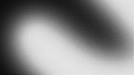 Monochrome black and white retro comic pop art background with dots, cartoon halftone background vector illustration eps10