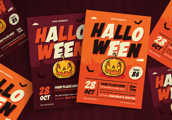 Illustrated Halloween Flyer