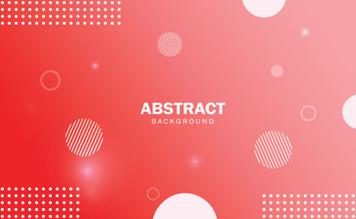 Red  abstract background gradient with geometric shape.