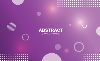 Purple abstract background gradient with geometric shape.