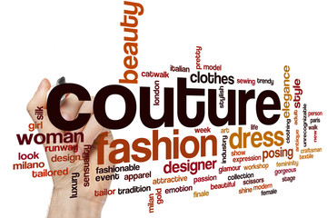 Couture word cloud