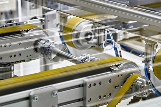 Solar, Produktion, Fließband, Maschinen