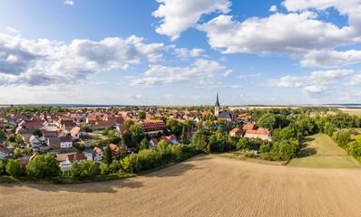 Ditfurt Landkreis Harz Luftbild