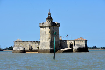 photography of Fort Louvois in Charente Maritime