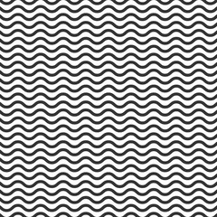Wall Mural - Line black pattern on a white background.