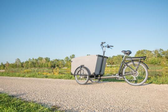 Lastenrad, umweltfreundlicher Transport