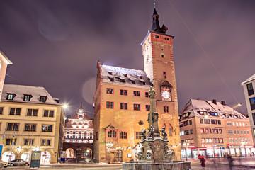 Wuerzburg at night